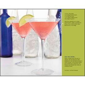 Custom Cocktails Stapled Calendar