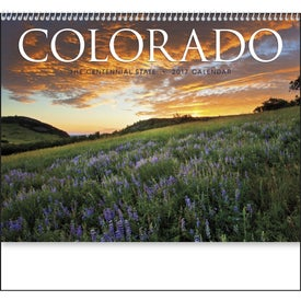 Colorado Appointment Calendar with Your Slogan