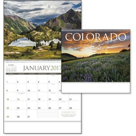 Colorado Appointment Calendar Imprinted with Your Logo