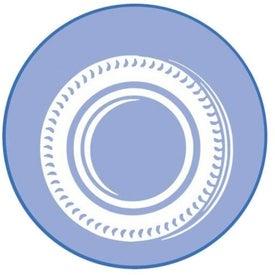 Logo Contemporary Super Size Press N Stick Calendar