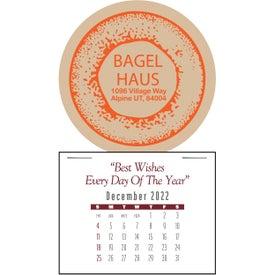 Contemporary Super Size Press N Stick Calendar