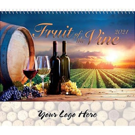 Coronado Fruit of the Vine Wall Calendar (Spiral)