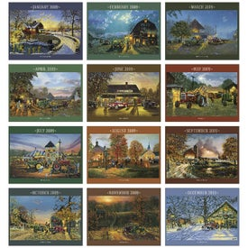 Country Memories Appointment Calendar Giveaways