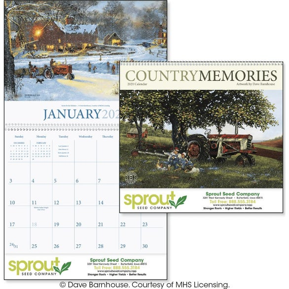 See Item Country Memories Appointment Calendar