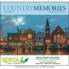 Country Memories Appointment Calendar for Promotion