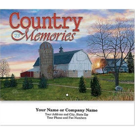 Country Memories Stapled Wall Calendar (2021)