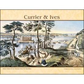 Currier and Ives: Spiral Calendar Giveaways