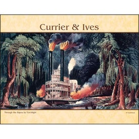 Currier and Ives: Spiral Calendar for Promotion