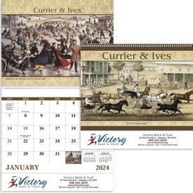 Currier and Ives: Spiral Calendar (2020)