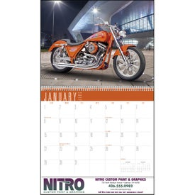Custom Bikes Appointment Calendar for Your Company