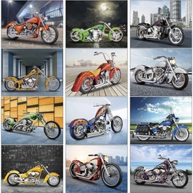 Promotional Custom Bikes Appointment Calendar