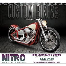 Custom Bikes Appointment Calendar (2017)