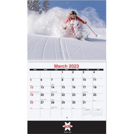 Custom Photo Coil Bound Wall Calendar (2020)