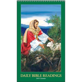 Daily Bible Readings Calendar Imprinted with Your Logo