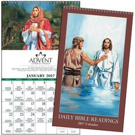 Personalized Daily Bible Readings Calendar
