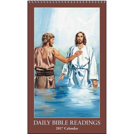 Branded Daily Bible Readings Calendar