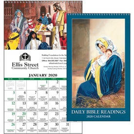 Daily Bible Readings Calendar (Protestant, 2020)