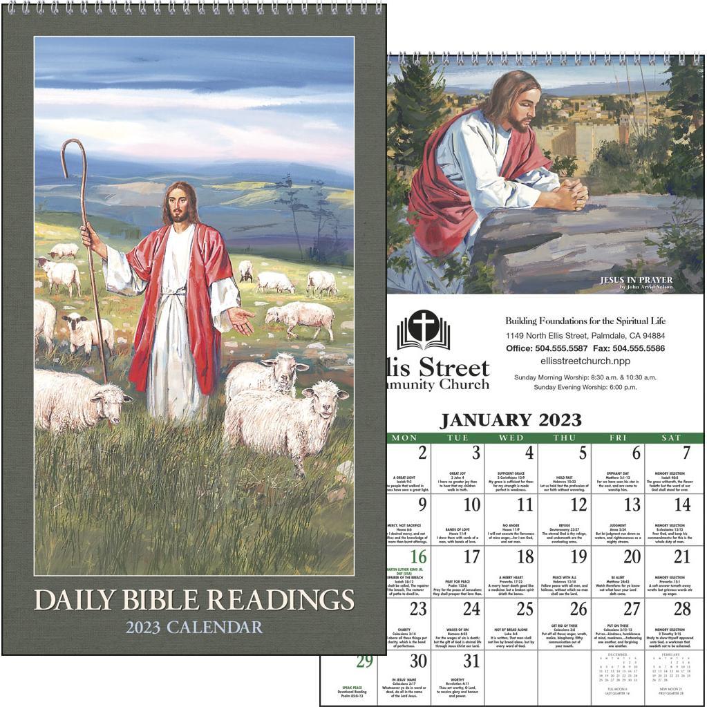Daily Bible Readings Calendars (2020)