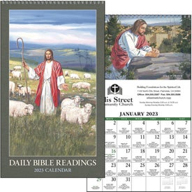 Daily Bible Readings Calendar (Protestant, 2019)