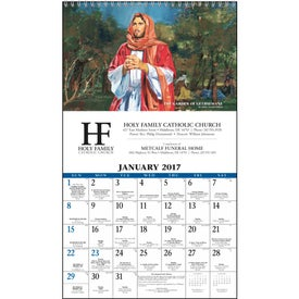 Personalized Daily Catholic Guide Executive Calendar