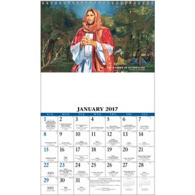 Promotional Daily Catholic Guide Executive Calendar