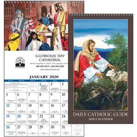 Daily Catholic Guide Executive Calendar (2020)
