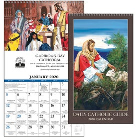 Daily Catholic Guide Executive Calendar (2020)