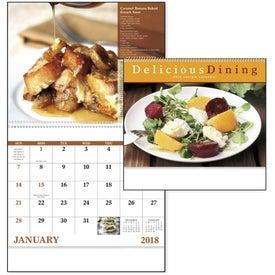 Delicious Dining Spiral Calendar for Advertising