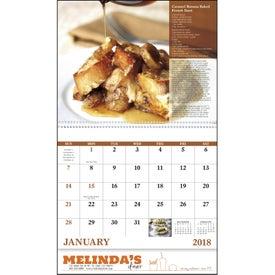 Company Delicious Dining Spiral Calendar