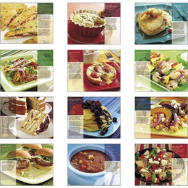 Promotional Delicious Dining Spiral Calendar