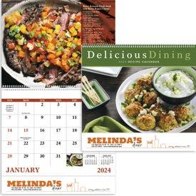 Custom Delicious Dining Spiral Calendar