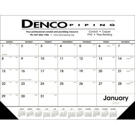 Customizable Desk Pad Black and White for Promotion