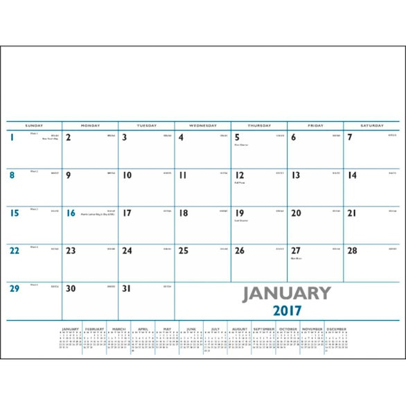 2015 Large Desk Pad Calendar Search Results Calendar 2015