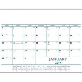 Logo Desk Pad Calendar