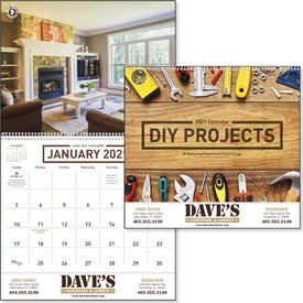 DIY Projects Calendar (2021)
