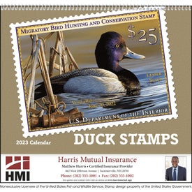 Duck Stamp Appointment Calendar (2019)
