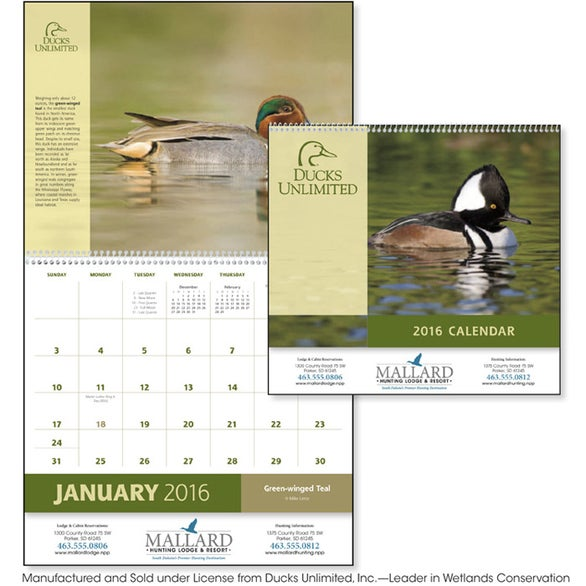Ducks Unlimited Appointment Calendar