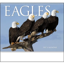 Monogrammed Eagles Appointment Calendar