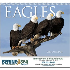 Imprinted Eagles Appointment Calendar