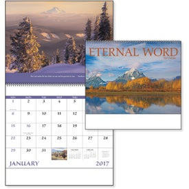 Eternal Word Calendar - No Funeral Form Printed with Your Logo