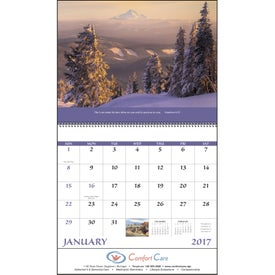 Personalized Eternal Word Calendar - No Funeral Form