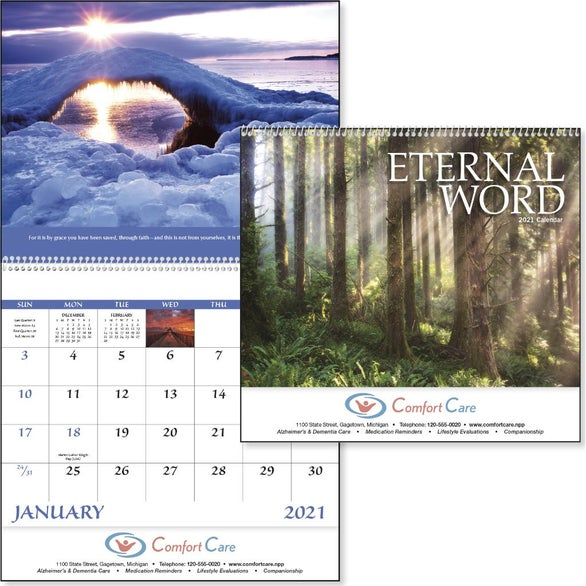 See Item Eternal Word Calendar - No Funeral Form