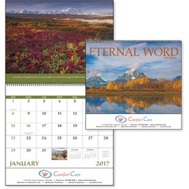 Branded Eternal Word Calendar - With Funeral Form