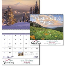Customized Everlasting Word Calendar - No Funeral Form