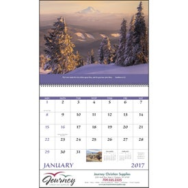 Personalized Everlasting Word Calendar - No Funeral Form