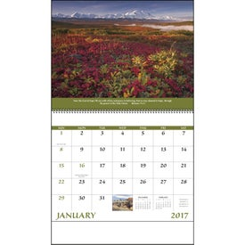 Customized Everlasting Word Calendar with Funeral Form