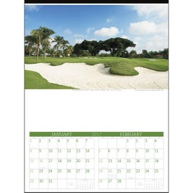 Logo Executive Golf Calendar