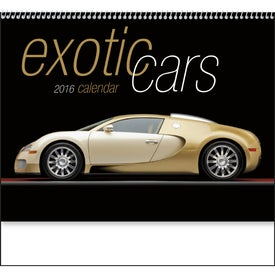 Promotional Exotic Cars Appointment Calendar