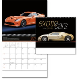 Monogrammed Exotic Cars Appointment Calendar