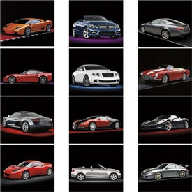 Exotic Sports Cars Spiral Calendar for your School